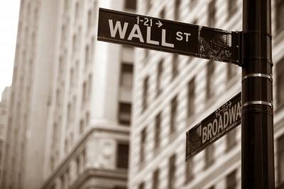 Fototapeta Wall Street