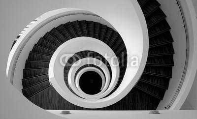 Fototapeta Zakręcone schody