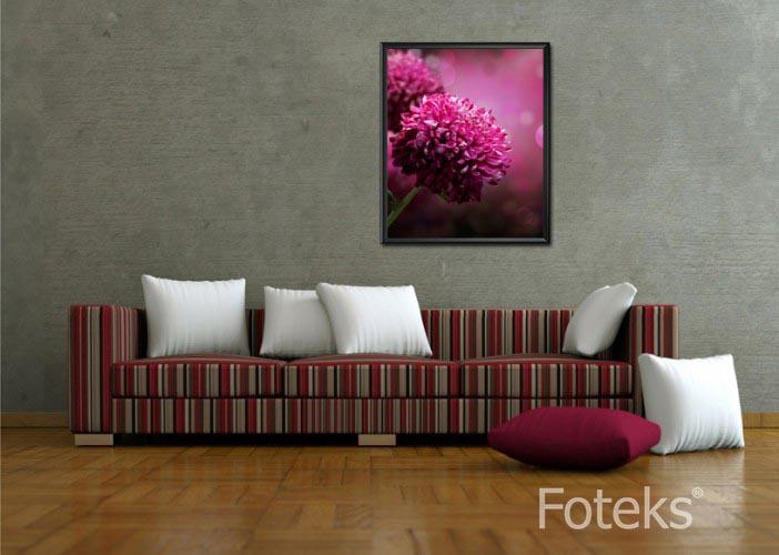 Obraz w ramie Magia kwiatów