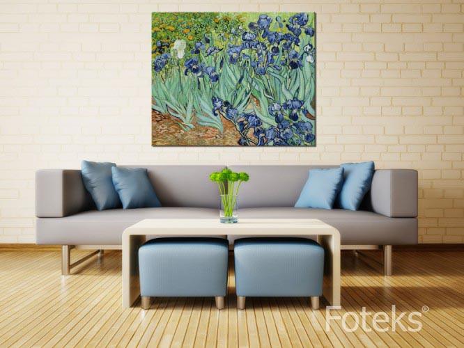 Vincent Van Gogh - Irysy