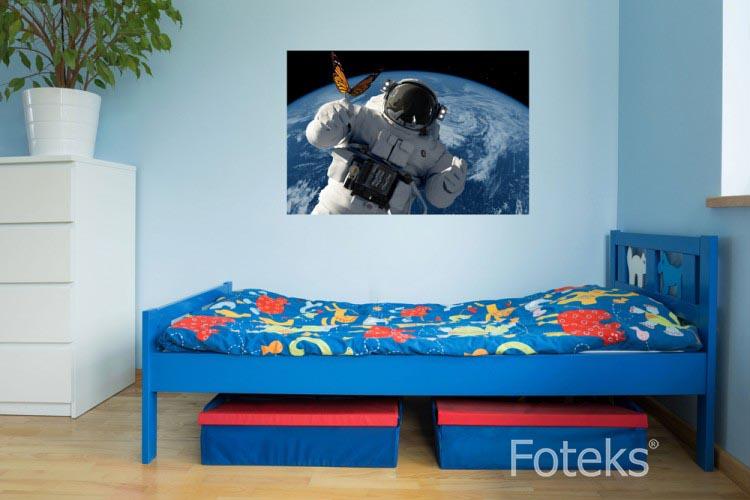 Astronauta i motyl