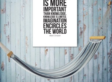 Imagination is more
